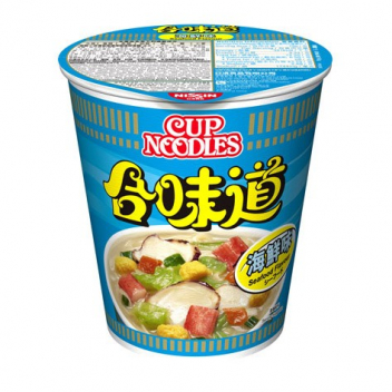 Zupa Nissin Cup Noodles - owoce morza