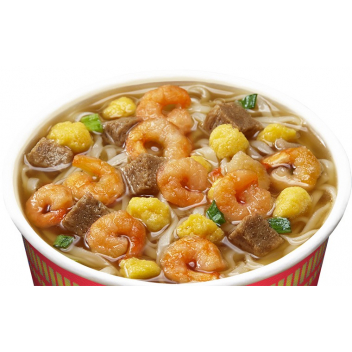 Zupa Prawn Flavour Cup Nissin