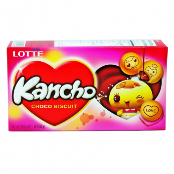 Ciastka Kancho Choco Biscuits Lotte