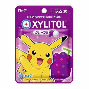 Cukierki Xylitol Pokemon Ramune & Grape Lotte