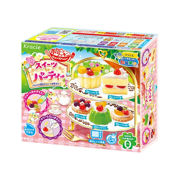 Popin Cookin Sweets Party Kracie