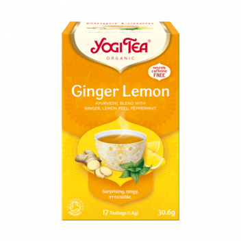 Herbata Yogi Tea Ginger Lemon